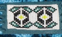 Native American Beaded Flute Wrap